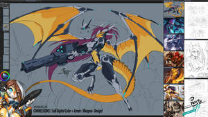 STREAMING NOW! - Cyber Dragons and Big Guns