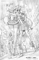 Thrift Fashion Attack - Annie and Sarri