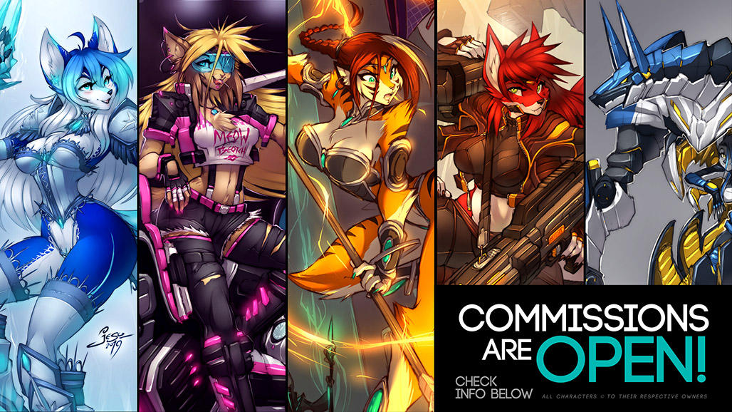 COMMISSION are CLOSED! ( July 1 -to- 5 )