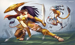 Hakuna vs Tyla Tigress - Clash of Amazons