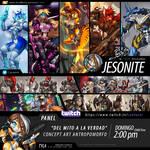 PANEL de CONCEPT ART Confuror 2020 - Domingo 2pm
