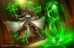 Zielrust - The Jackal Sorceress