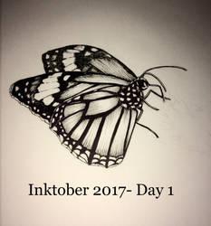 Inktober 2017- Day 1 by starrdust