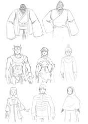 Sketch Commission Meraxa by MessatanienCarder