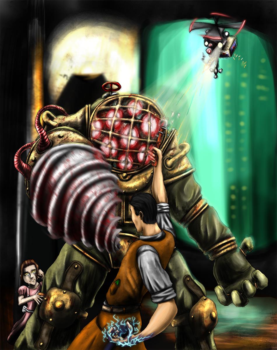 Bioshock Big Daddy By Thrakks On Deviantart