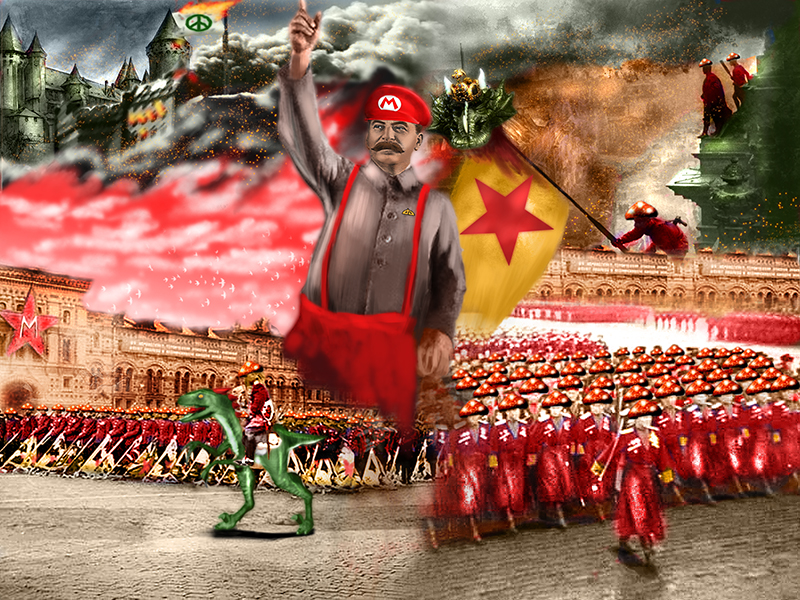 Back in the USSR - Mario by Thrakks