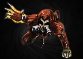 Scarecrow speedpaint by Thrakks