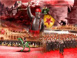 The Communist Mario Triumphant by Thrakks