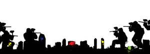 City paintball