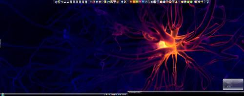 New ultraMon Desktop by bluedotgod