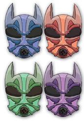 Power Armor Dog Style Masks