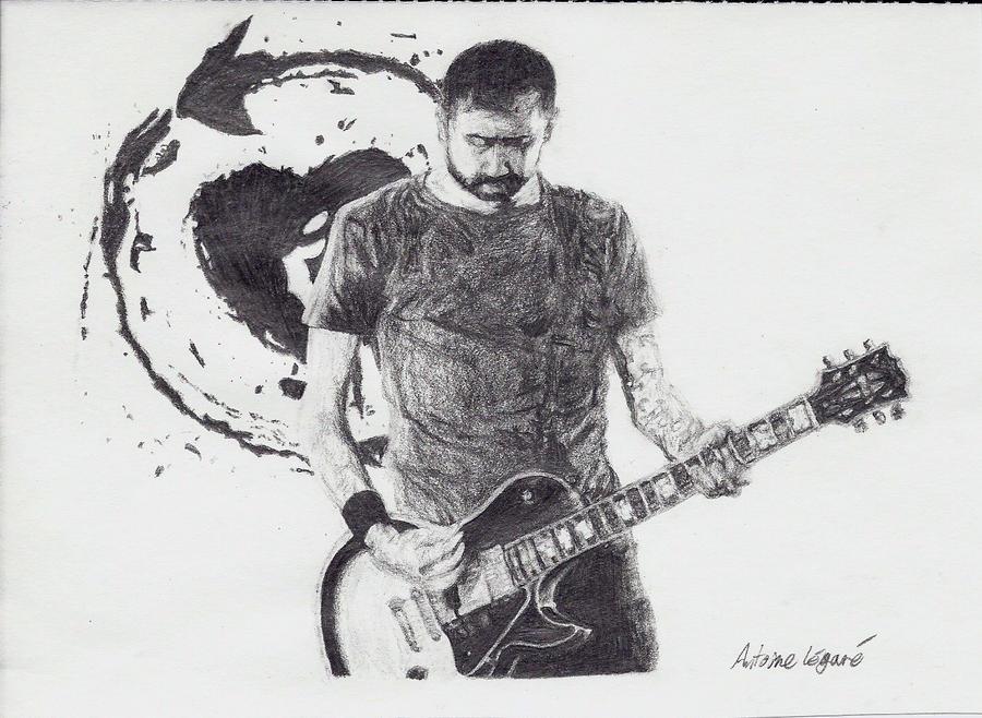 Tim McIlrath guitar by Xnyl-TouIne
