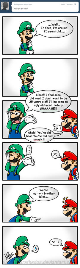 .:How old are you Luigi:.
