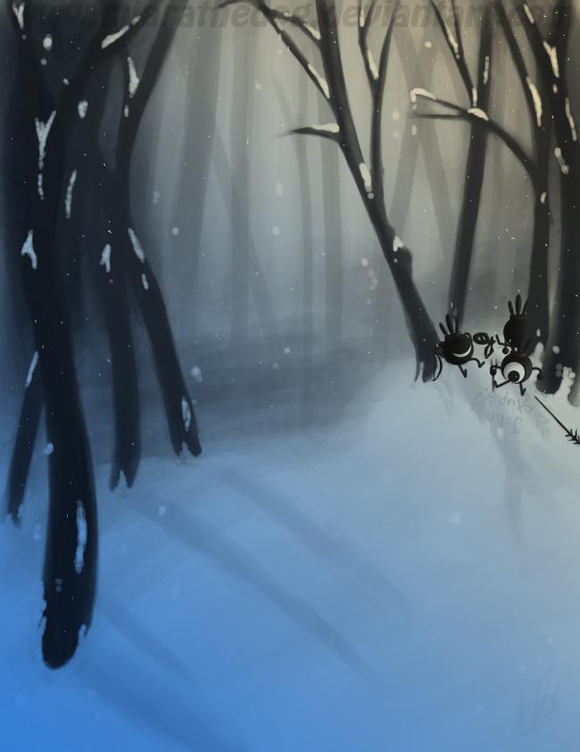.:SpeedPaint Snow Practice:. by Miapon
