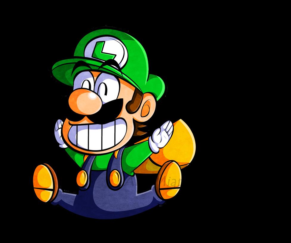 Cp Super Mario Kun Stylized Luigi By Miapon On Deviantart
