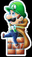 .:Luigi Cheeb dreamy dreamy team style:.