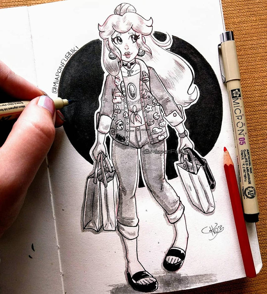 .:Contemporary Pink Princess:. by Miapon