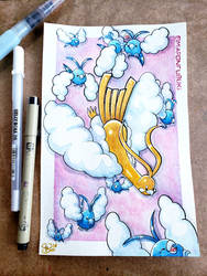 For Sale .:Swablu and shiny Altaria:. by Miapon