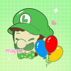 PA .:Mister Balloons With A Fine Mustache:. by Miapon