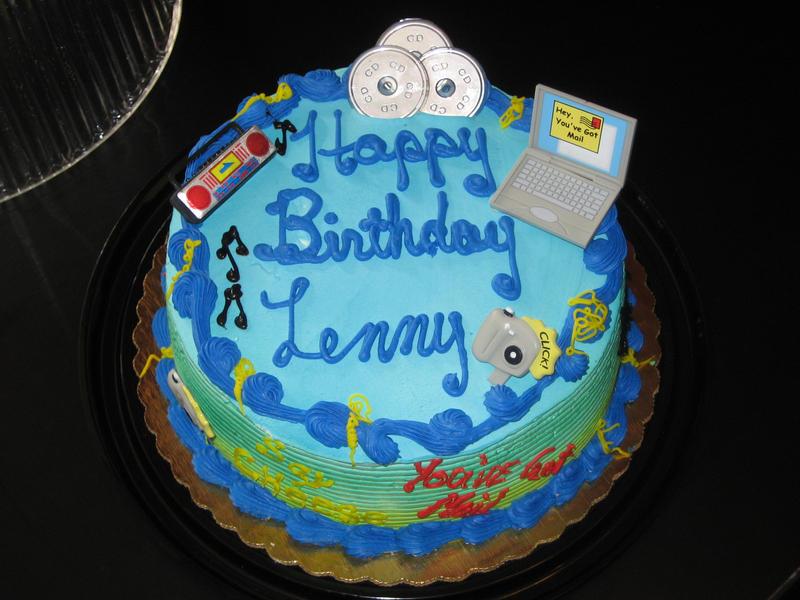 Birthday Cake Artwork