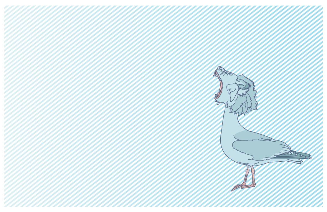 ferocious fegull by mtsdesigner
