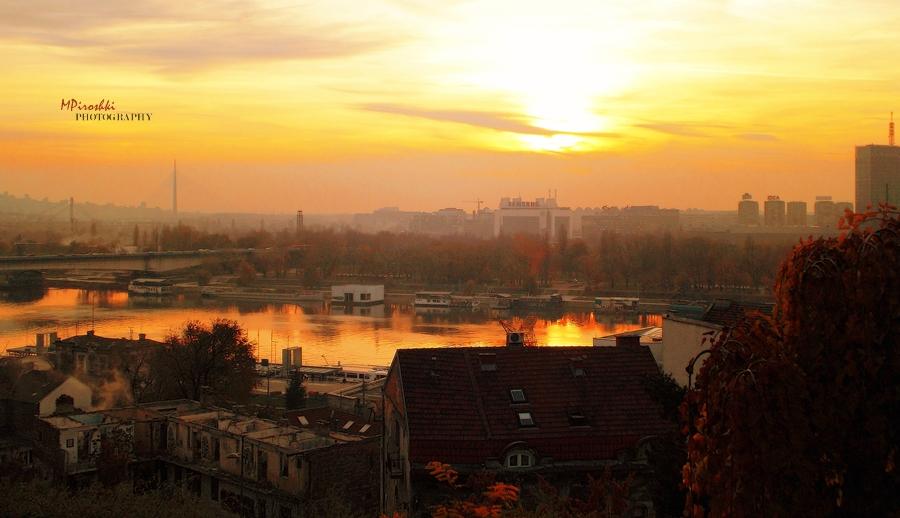 Roofs of Belgrade (Krovovi Beograda) by Piroshki-Photography
