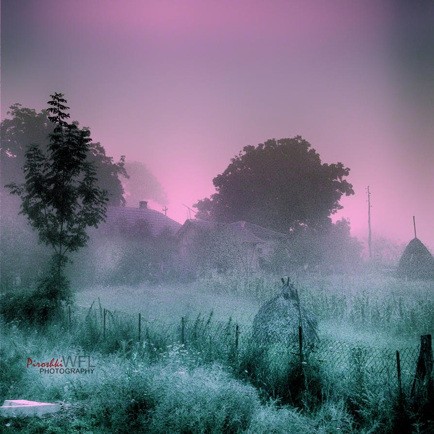 Poem of the morning mist by Piroshki-Photography