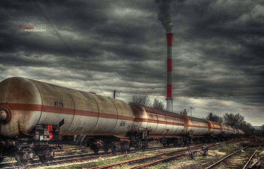 Wasteland passing by by Piroshki-Photography