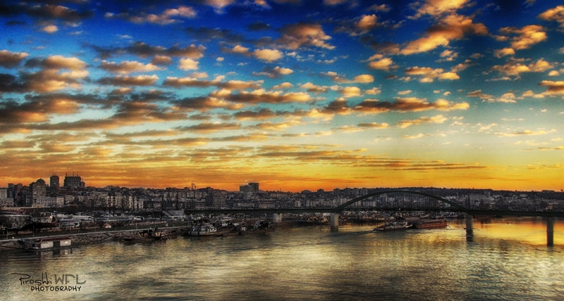 -Panorama of Belgrade II- by Piroshki-Photography