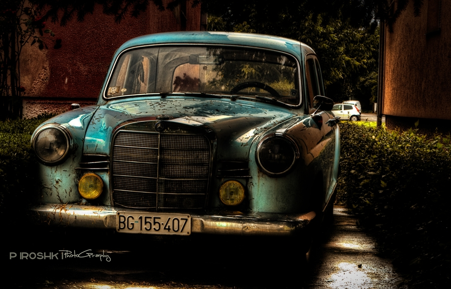 Poem about an Old time(r) by Piroshki-Photography