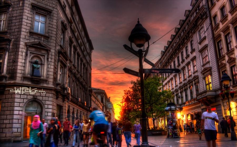 Golden hour snapshot by Piroshki-Photography