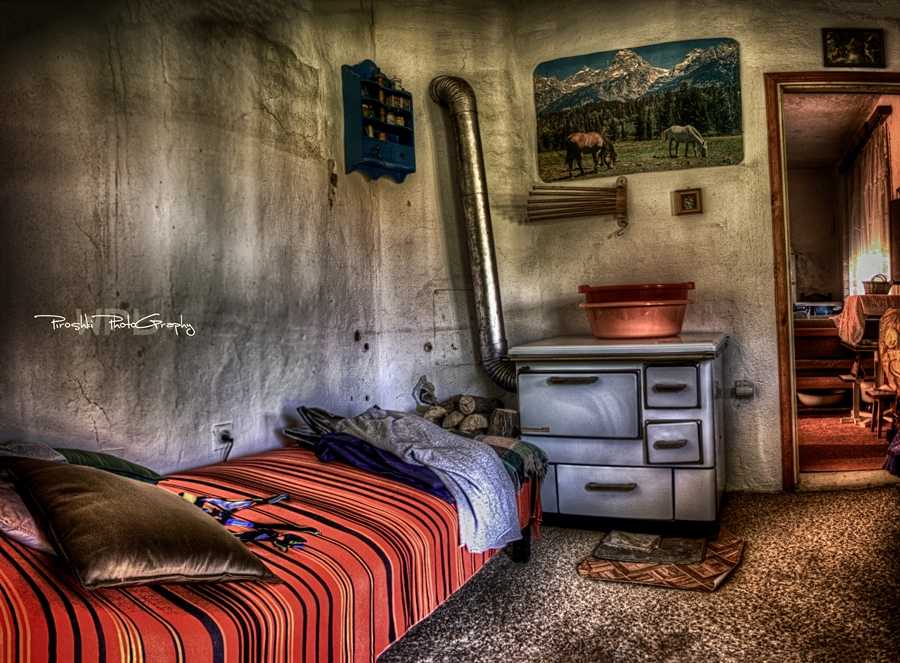 Inside the house of mud by Piroshki-Photography