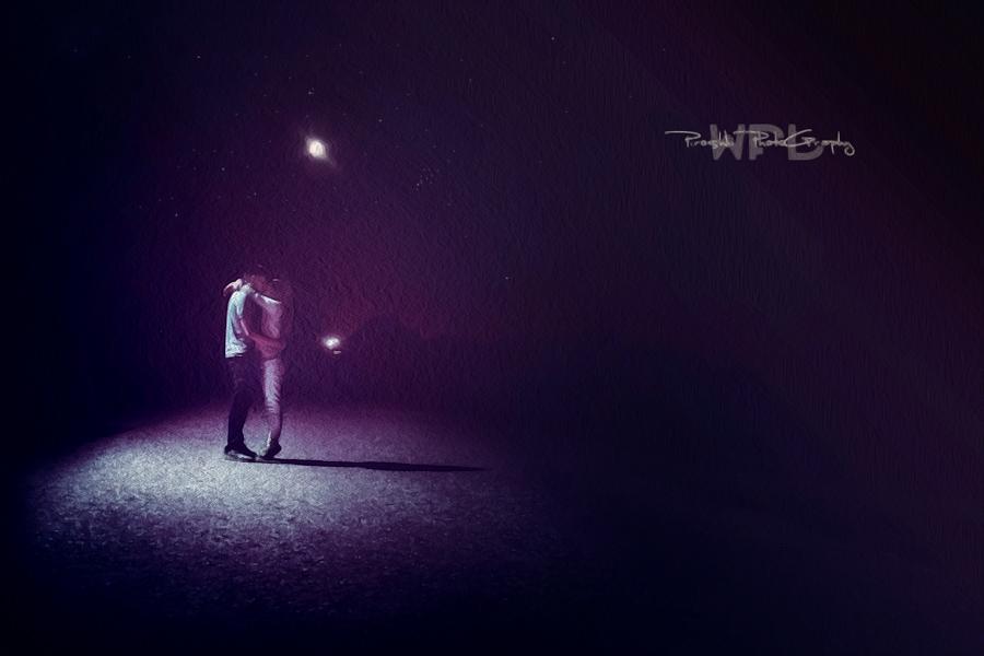 Kiss of the night by Piroshki-Photography
