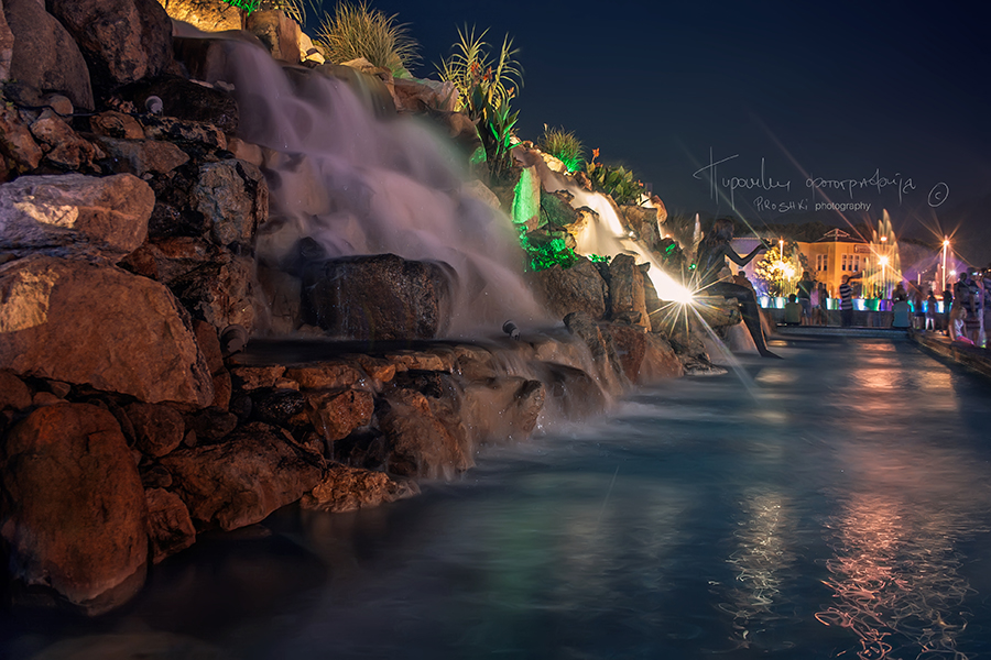 Marmaris at night by Piroshki-Photography
