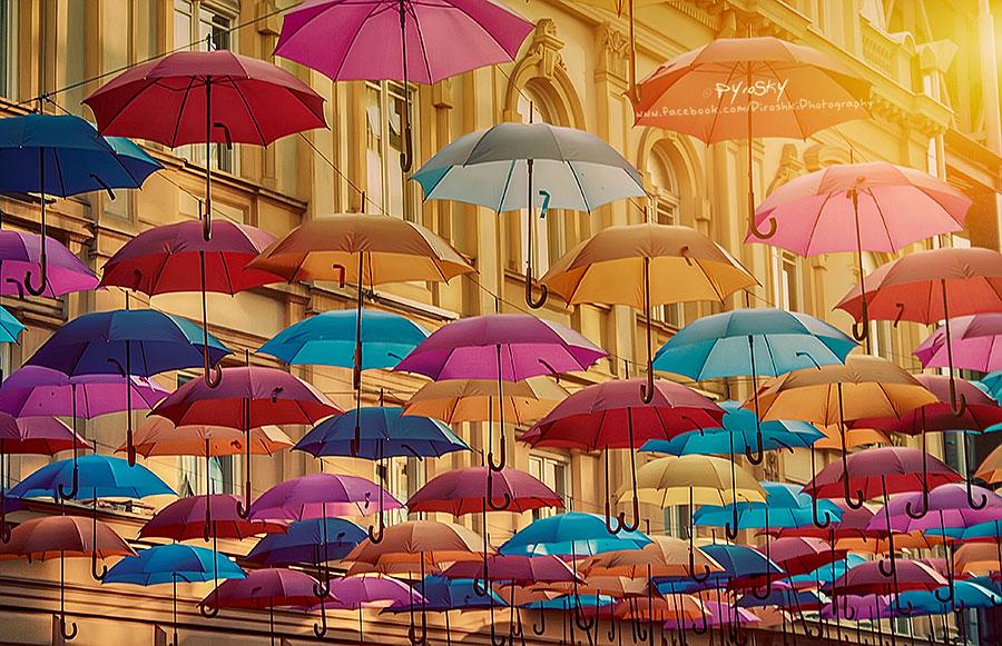 Poem of umbrellas by Pyr0sky