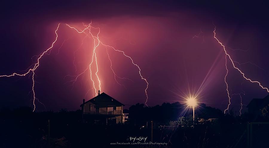 Chasing the thunder all night long by Piroshki-Photography