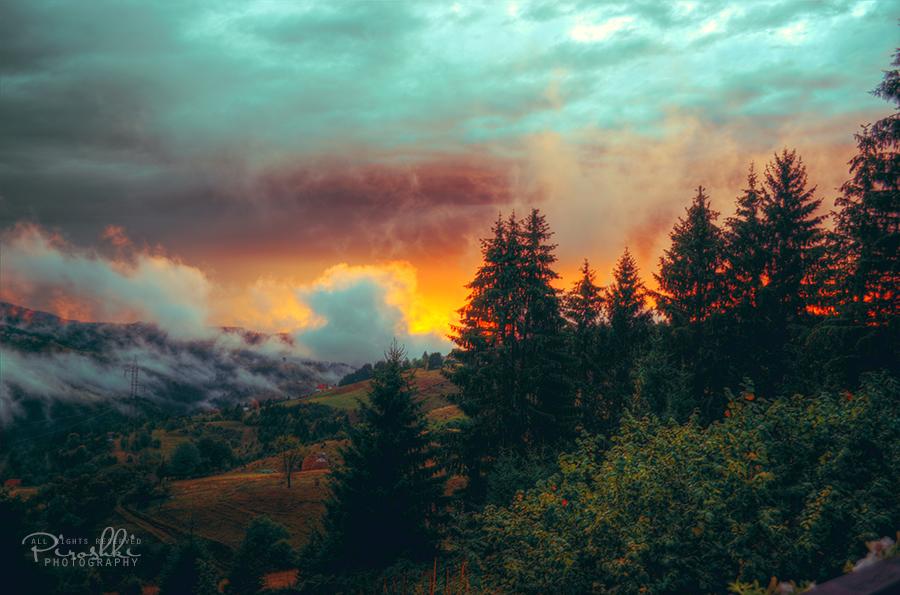 Burning earth by Piroshki-Photography