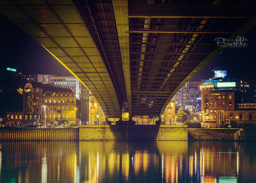 Brankov most nocu by Piroshki-Photography