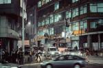 Belgrade streets at night