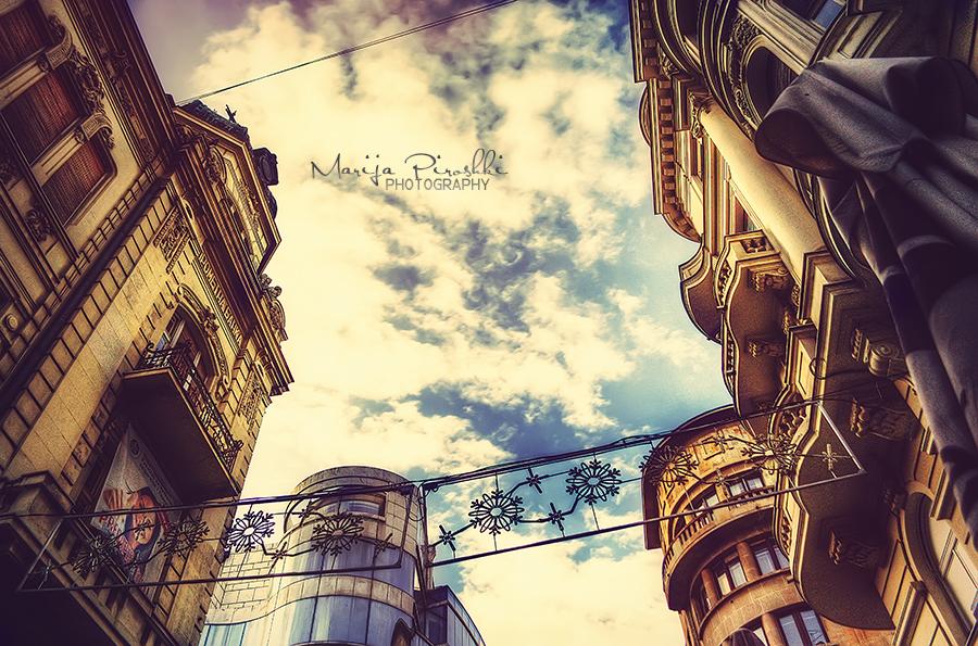 Sky of Belgrade by Piroshki-Photography