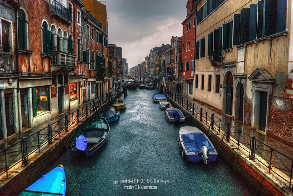 Rain in Venice by Piroshki-Photography