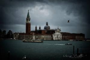 Venice colored with heavy sky by Piroshki-Photography