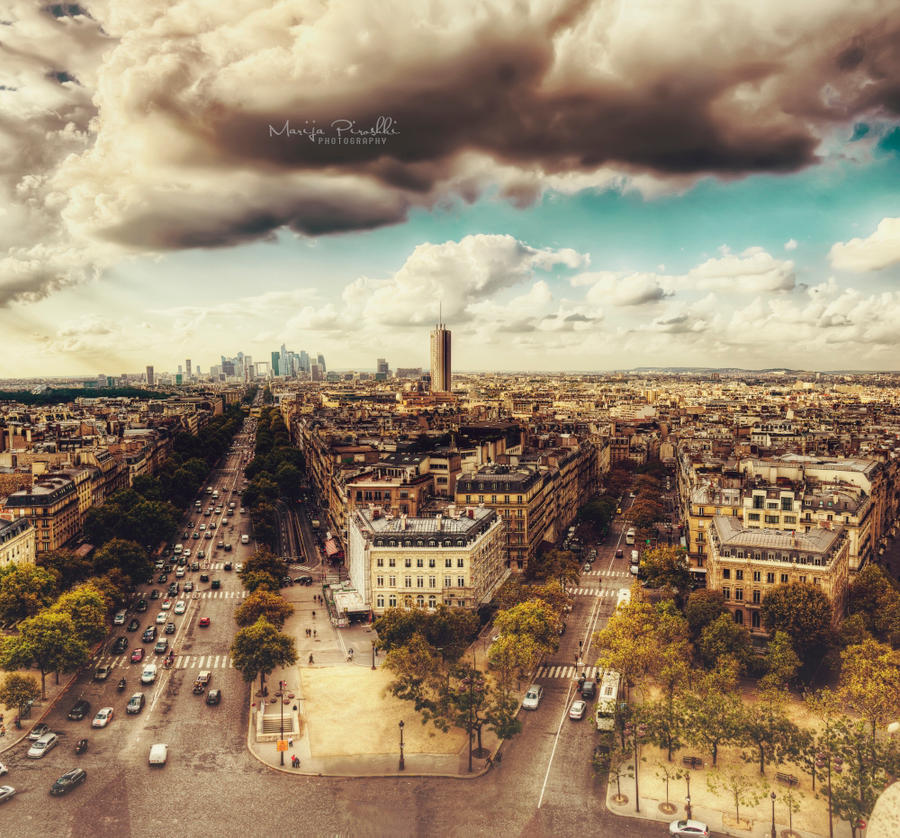 In Paris My love by Piroshki-Photography