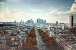 Modern Paris View