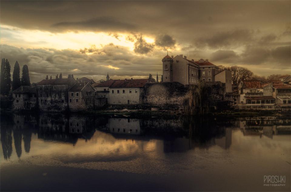 Bosnian twilight by Piroshki-Photography