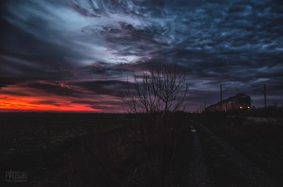 Night train by Piroshki-Photography