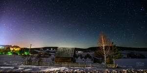 Night over the Zlatar