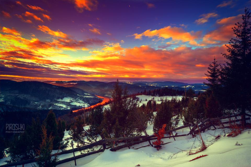 Poem of sunrise by Piroshki-Photography