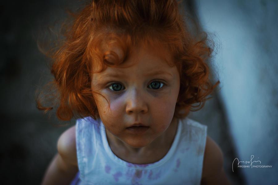 Little red head by Piroshki-Photography