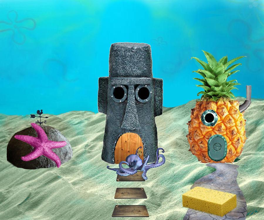 spongebob in the hood